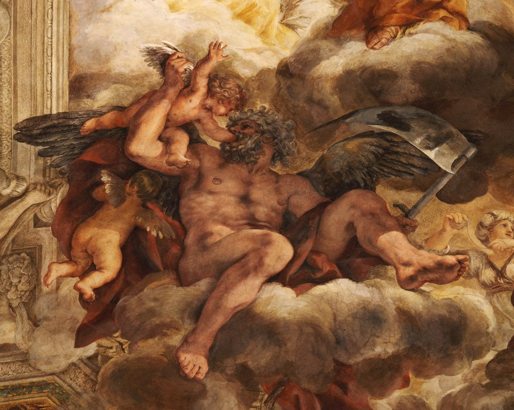 Detail of Detail Showing Saturn from the Allegory of Divine Providence by Pietro da Cortona