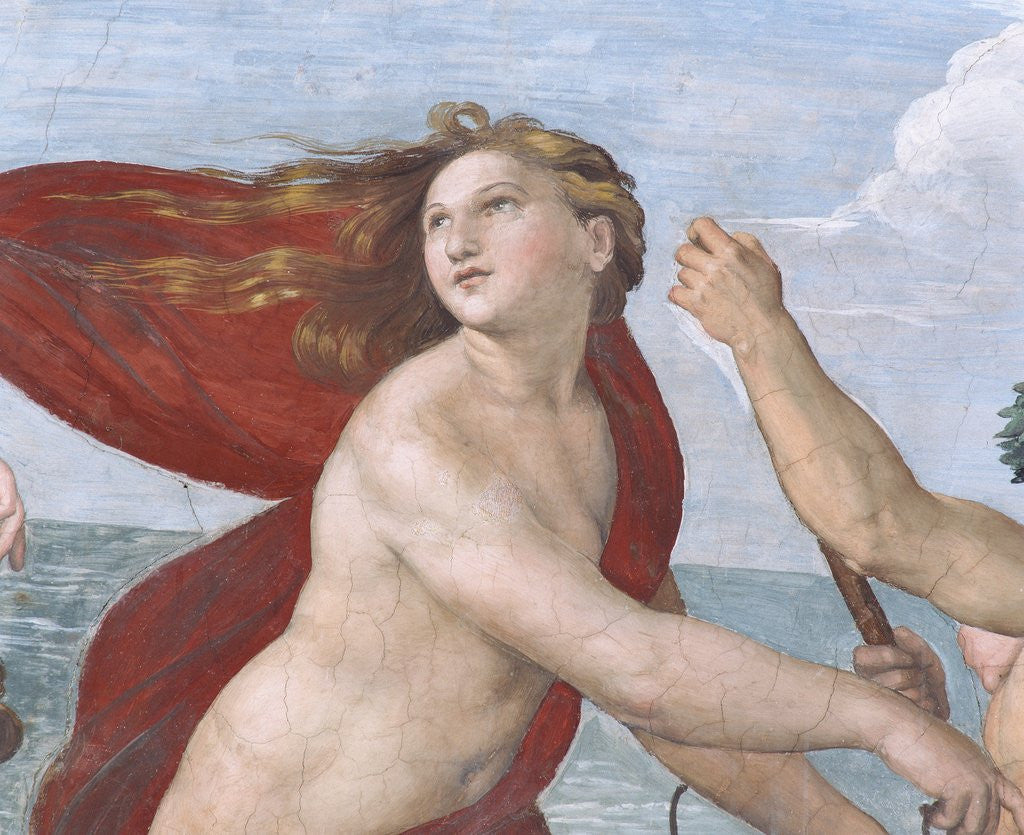 Detail of Detail Showing Galatea from Galatea by Raphael