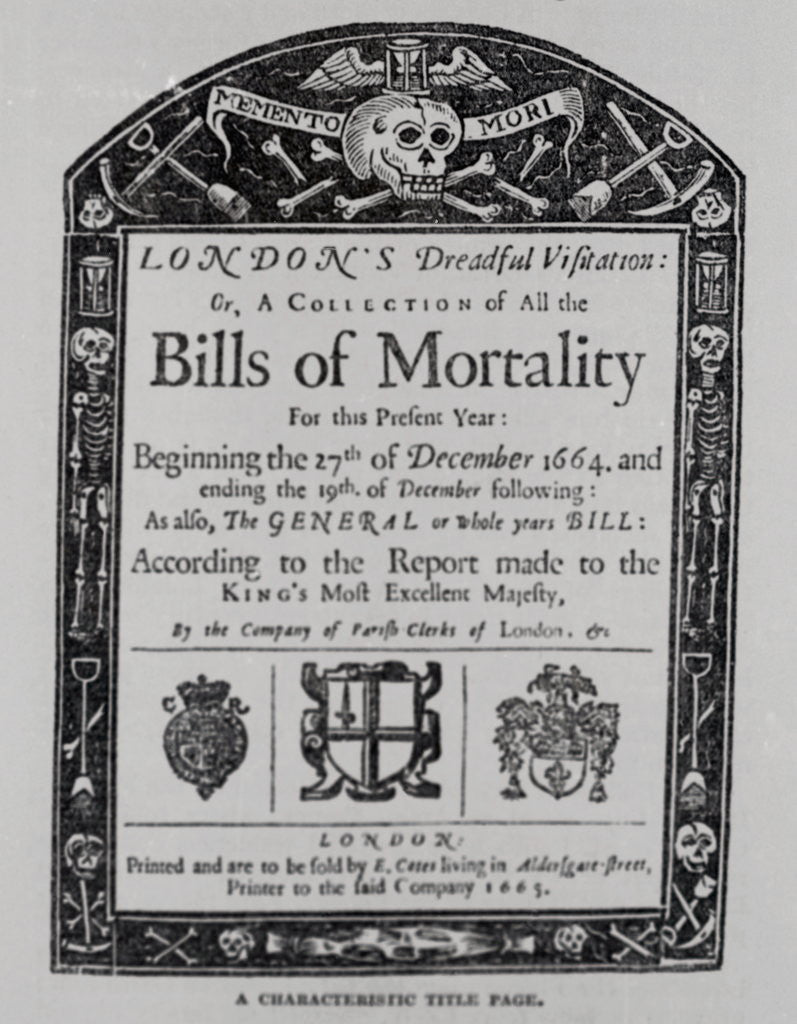Detail of Display of the Bills of Morality Titlepage by Corbis
