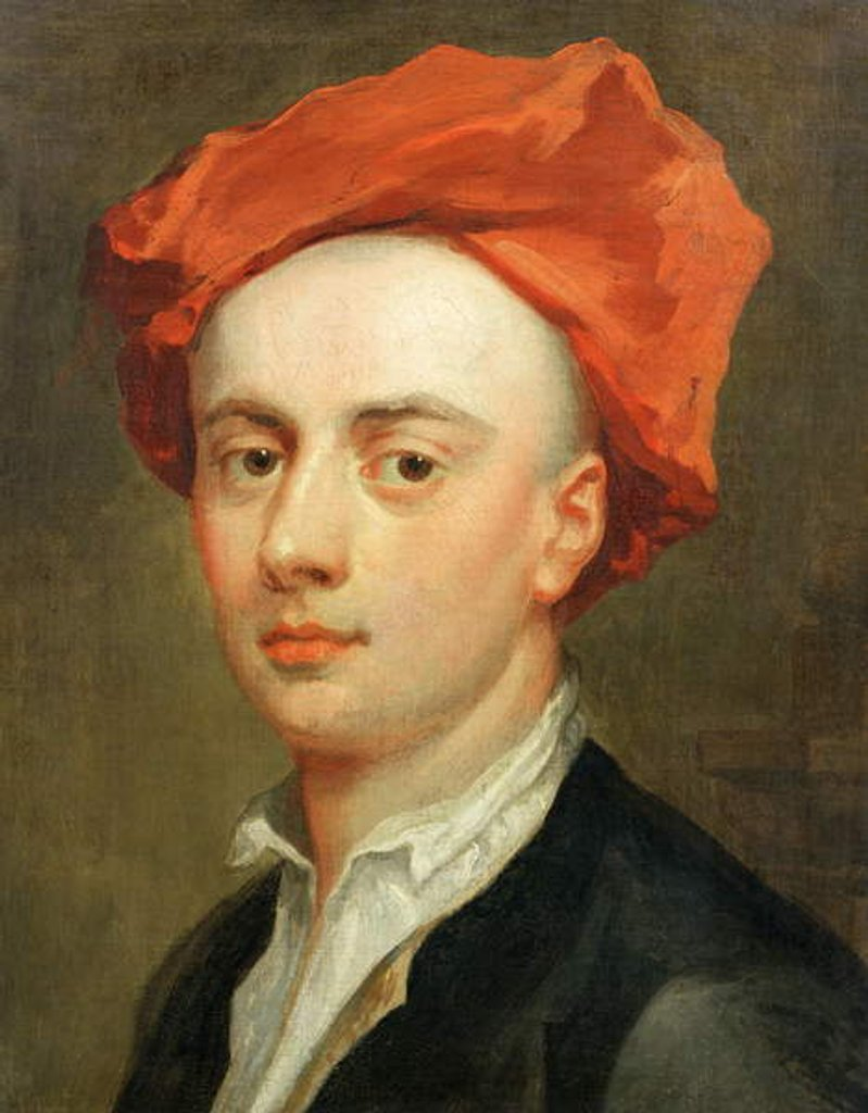 Portrait of John Gay, author of The Beggar's Opera