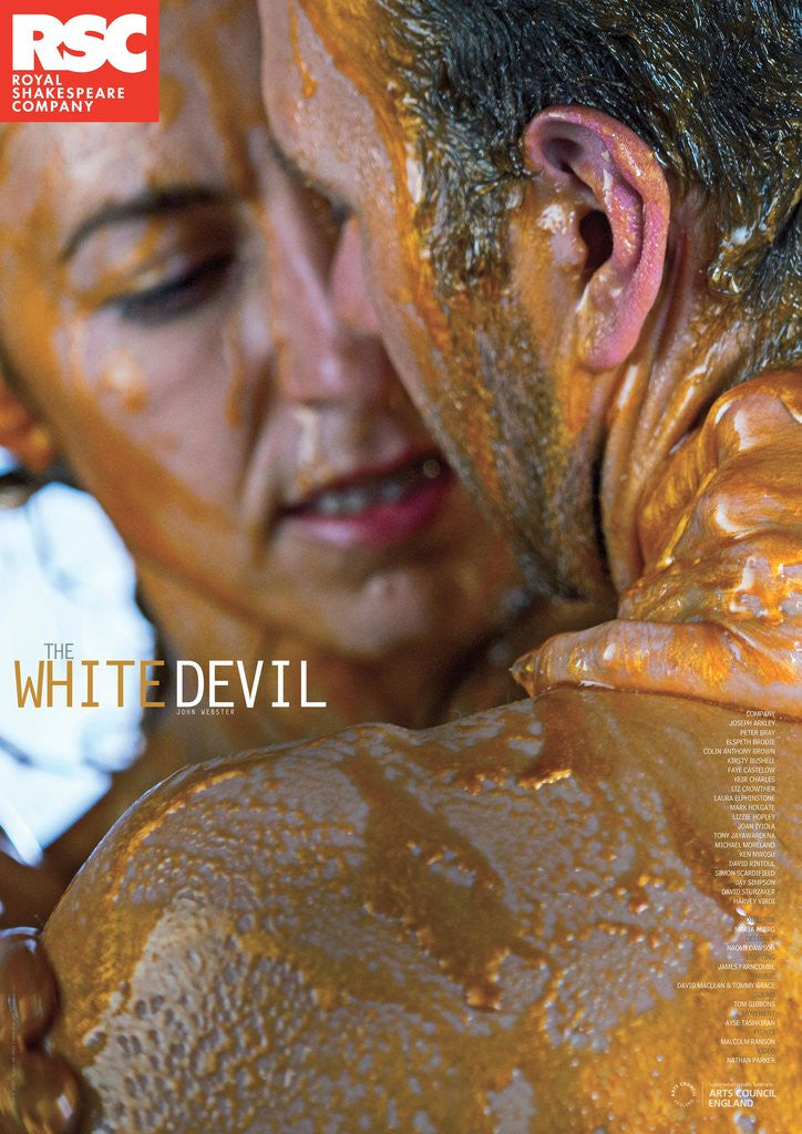 Detail of The White Devil, 2014 by Maria Aberg
