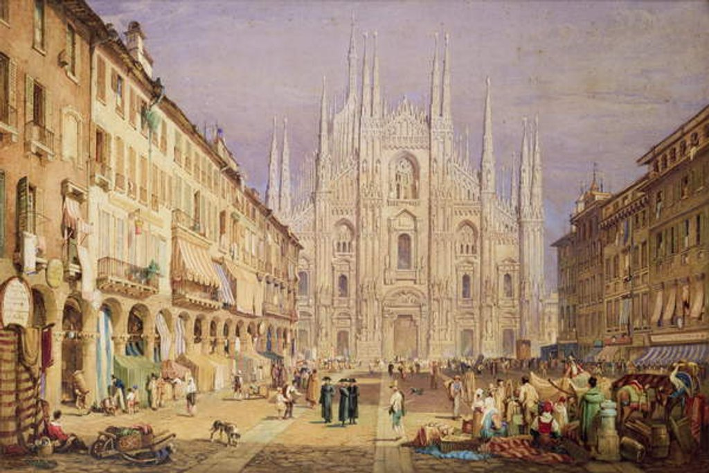 Milan, the Cathedral Square