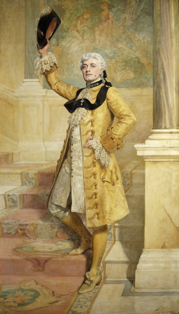 Detail of Lewis Waller as Monsieur Beaucaire by The Honourable John Collier