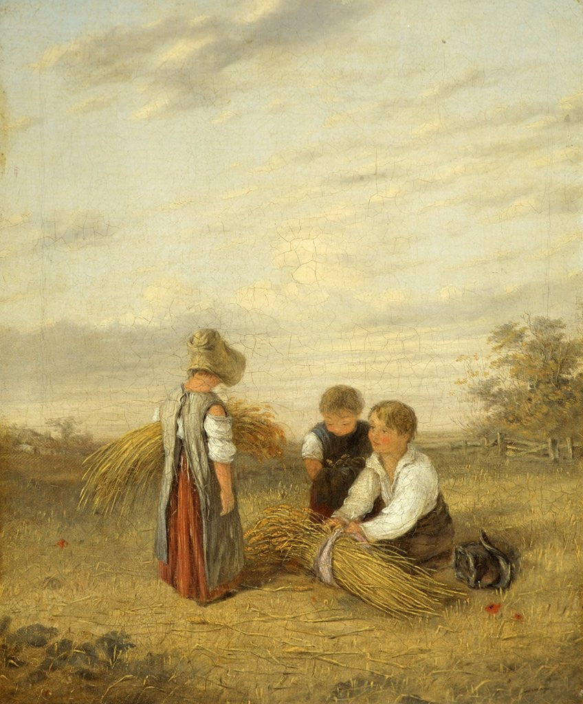 Detail of Harvest Time by William Collins