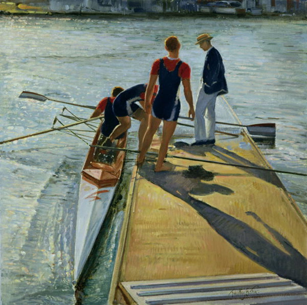 Detail of Evening Trial, Henley by Timothy Easton