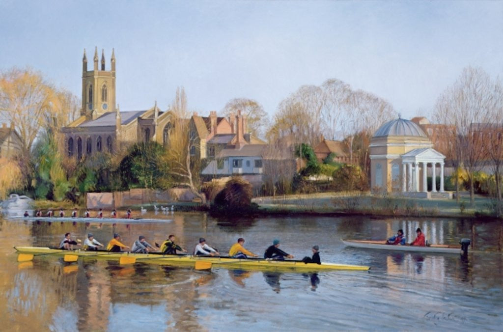 Detail of Winter Training at Hampton by Timothy Easton