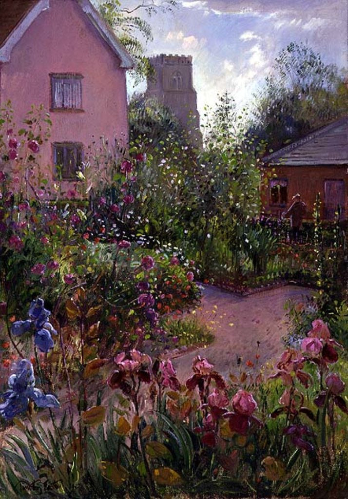 Detail of Herb Garden at Noon by Timothy Easton