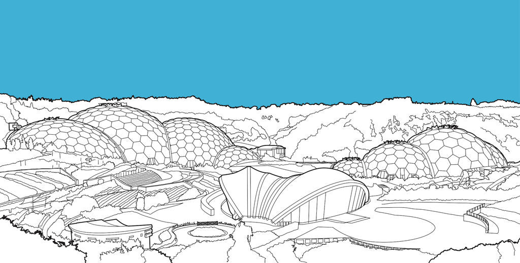 Detail of Eden Project by People Will Always Need Plates