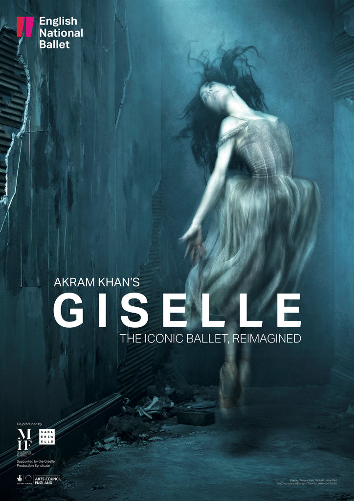 Detail of Akram Khan's Giselle by English National Ballet