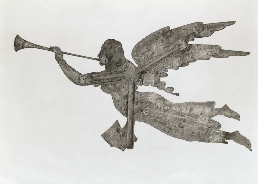 Detail of Angel Weathervane by Corbis
