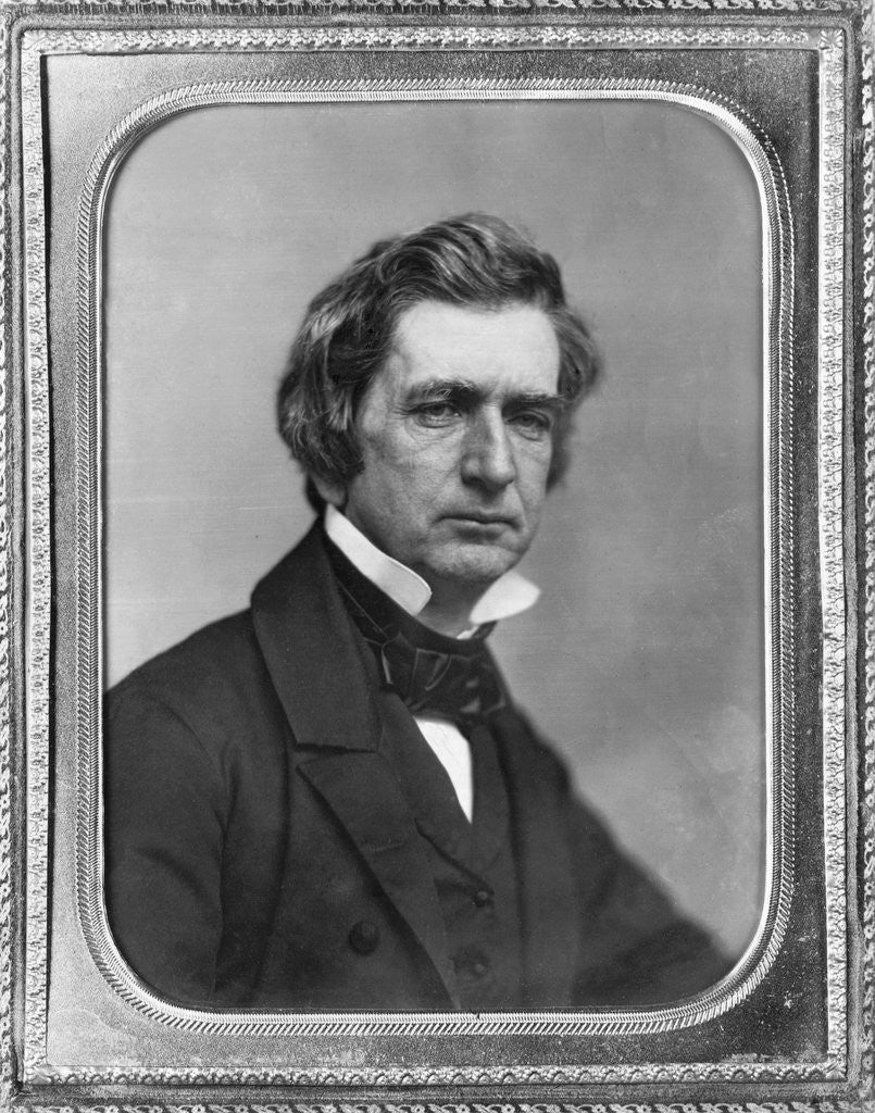 Detail of American Politician William Henry Seward by Corbis