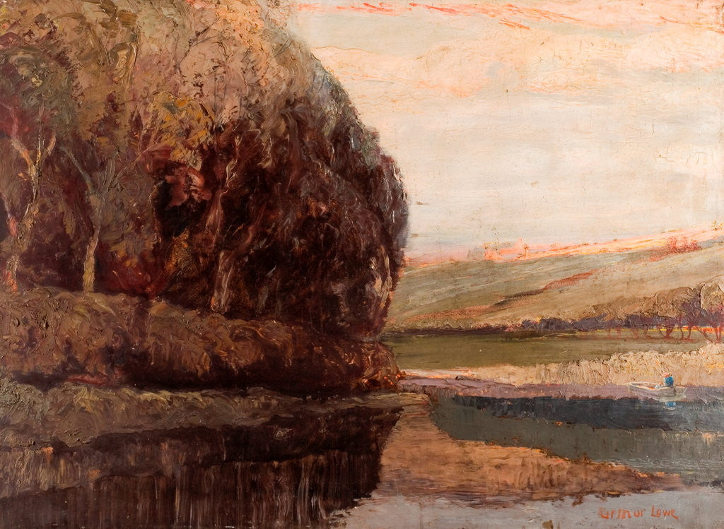 Detail of Evening by Arthur Lowe