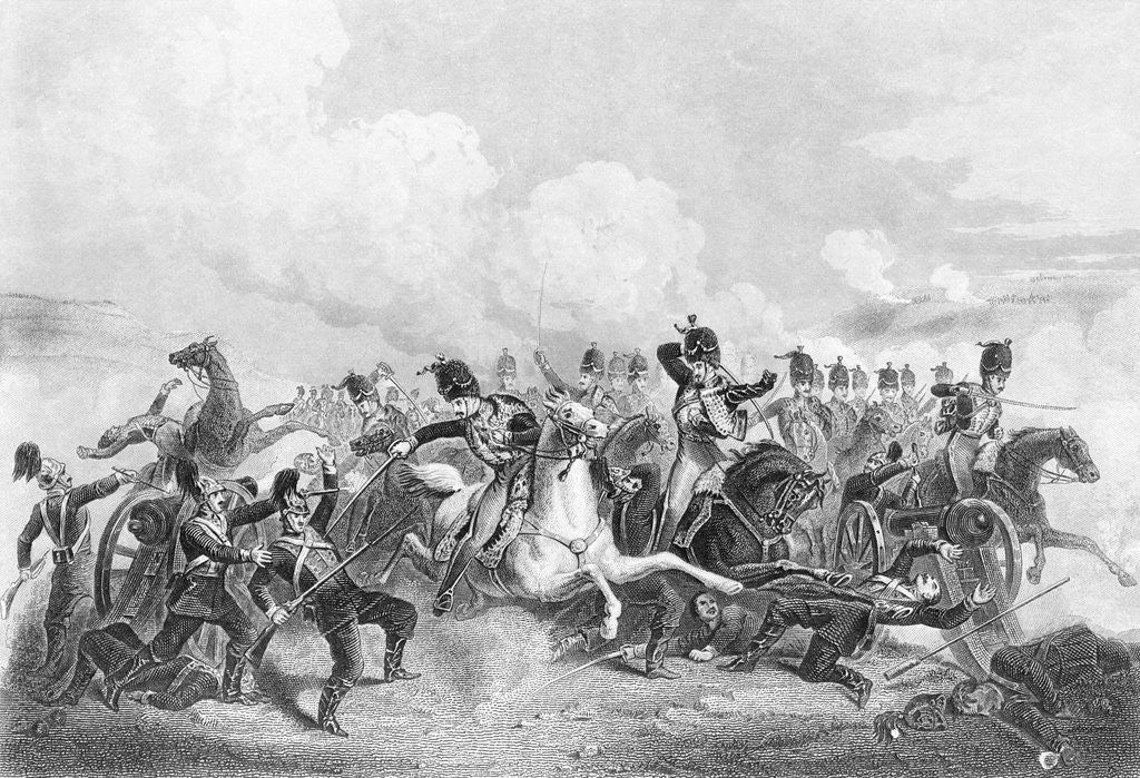 Detail of Illustration Depicting Battle at Balaklava. by Corbis
