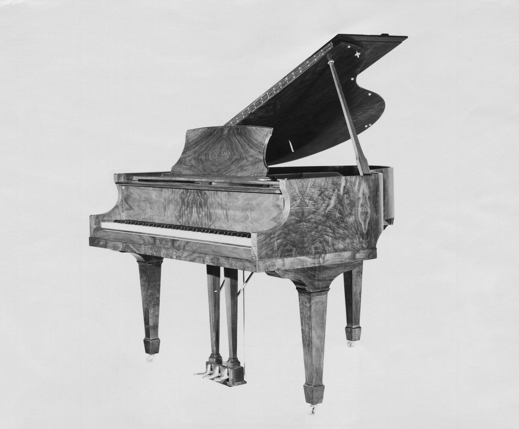 Detail of Display of Exquisite Piano by Corbis