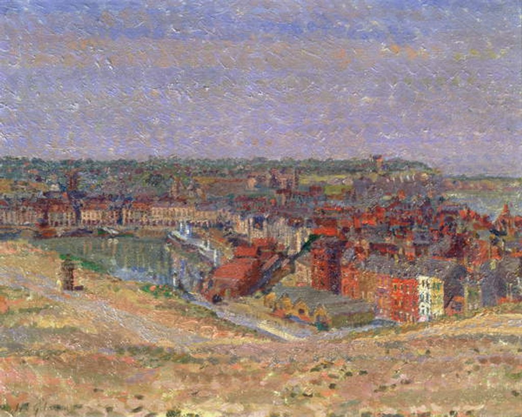 Detail of Dieppe, c.1911 by Harold Gilman