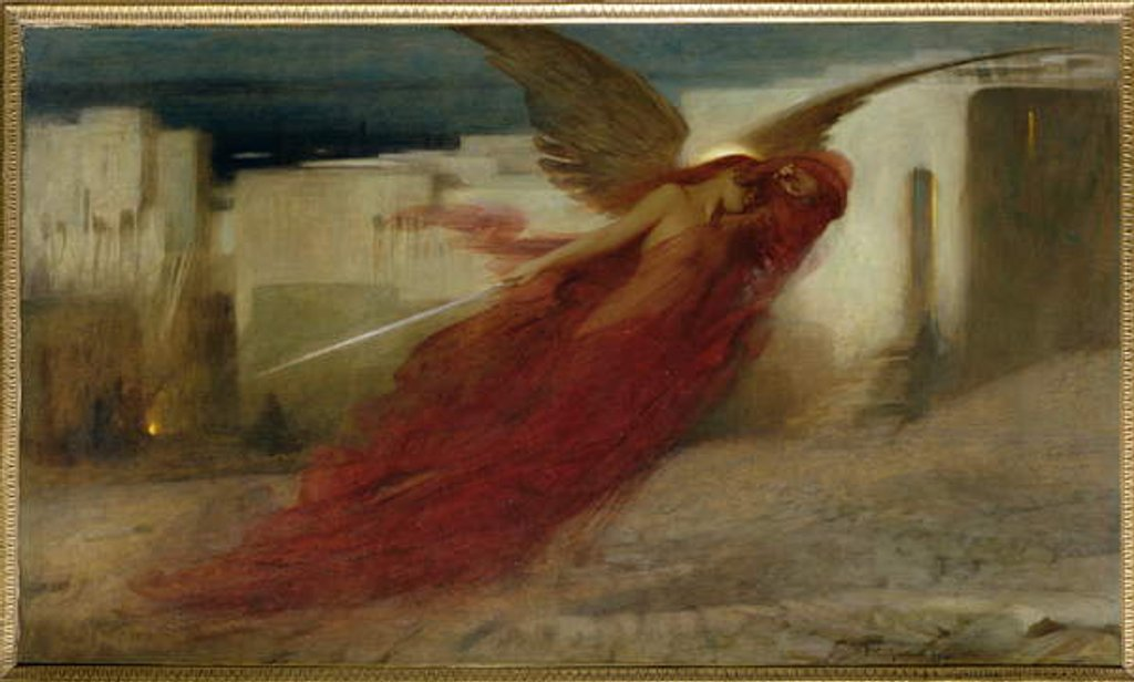 Detail of 'And Then There was a Great Cry in Egypt', 1897 by Arthur Hacker