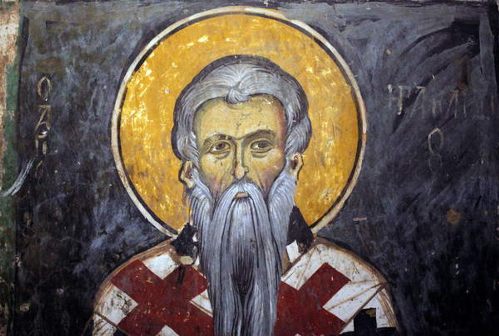 Detail of Saint Iraklion by Anonymous
