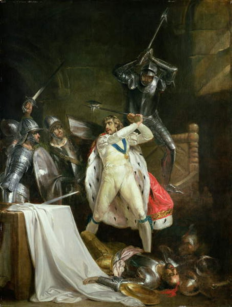 Detail of The Death of King Richard II, c.1792-93) by Francis Wheatley