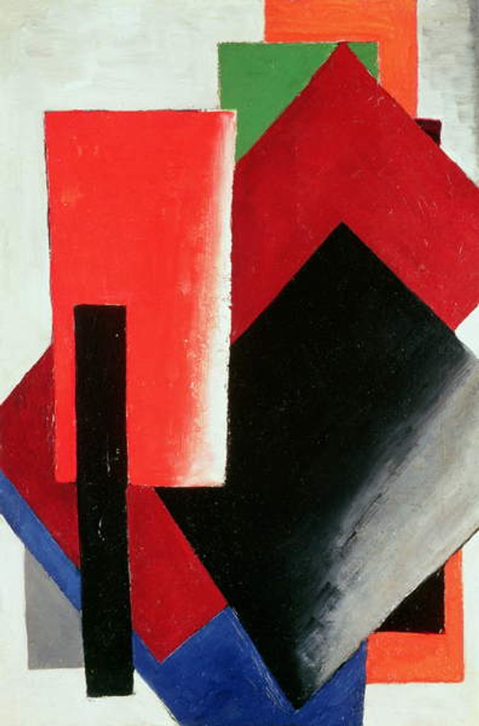 Detail of Architectonic Composition, 1918 by Lyubov Sergeevna Popova