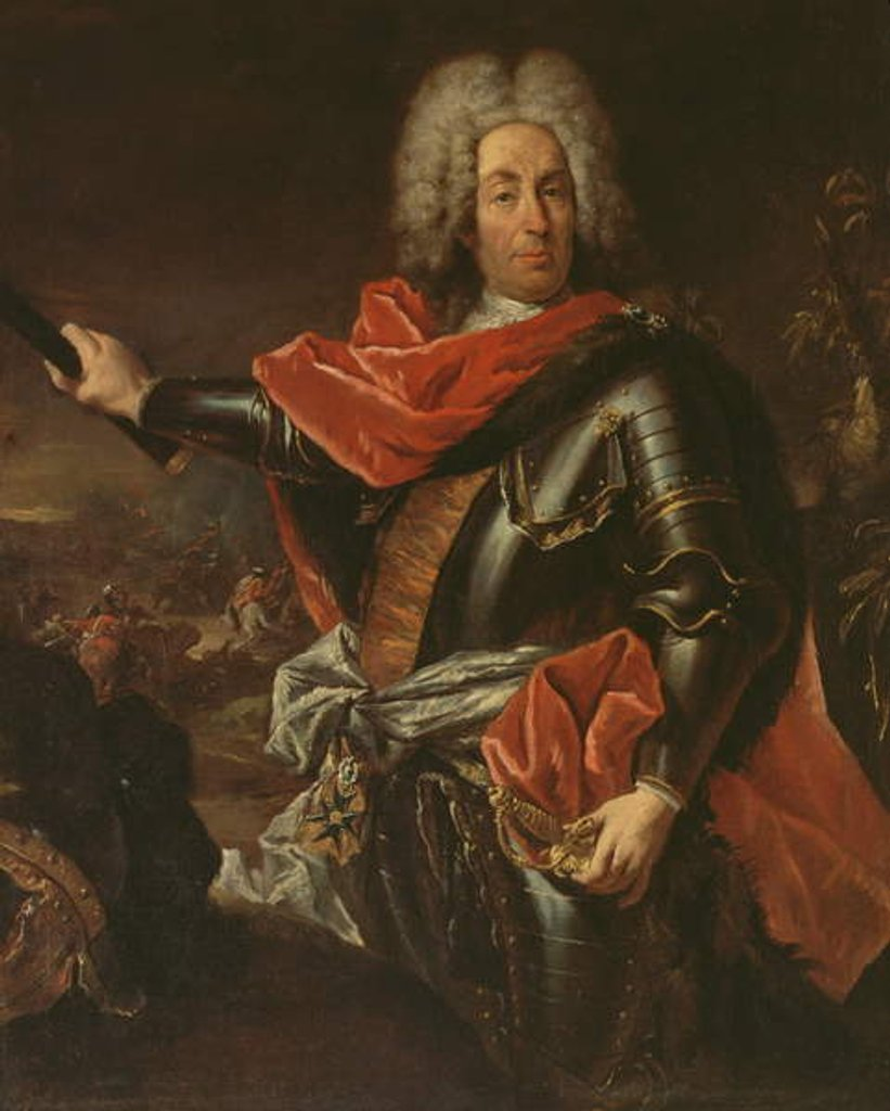 Portrait of Marshal Mattia von Schulemburg by Giovanni Antonio Guardi