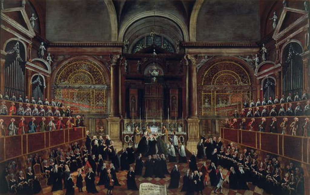 The Investiture of a Monarch in San Lorenzo