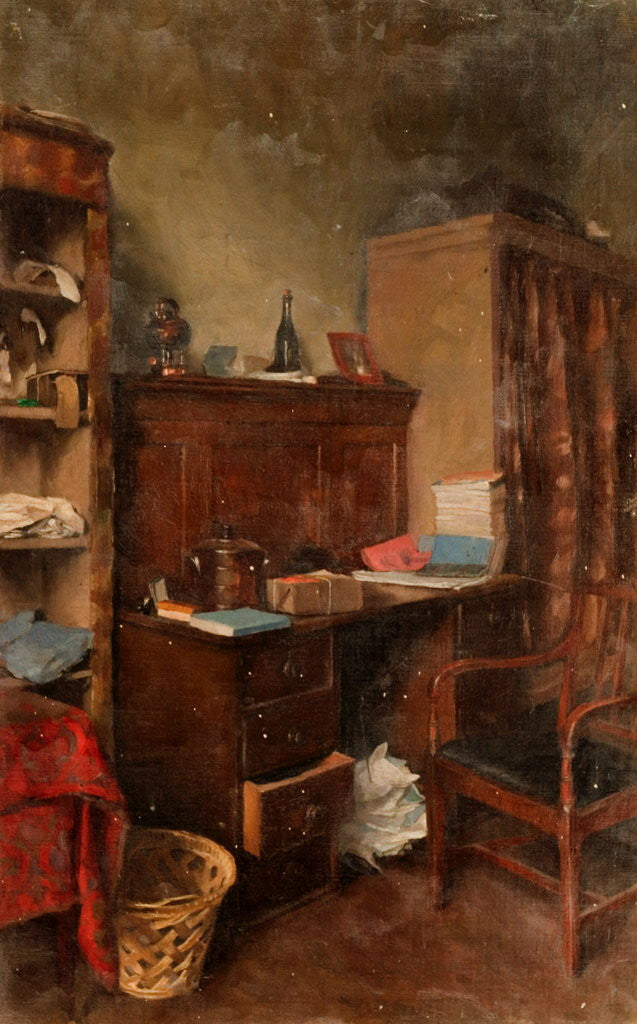 Detail of Interior Study by Henry Straker