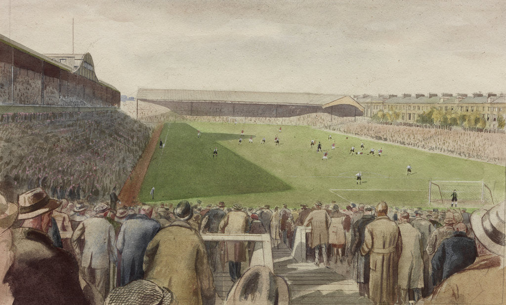 Detail of St James' Park Football Ground, Newcastle upon Tyne by Byron Eric Dawson