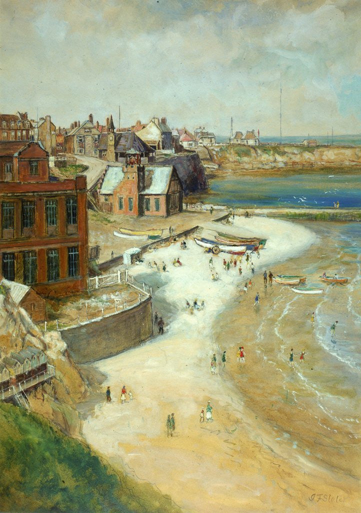Detail of Cullercoats by John Falconar Slater