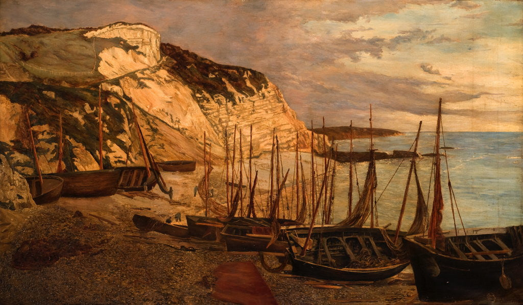 Detail of Beer Head, South Devon by Edwin Edwards