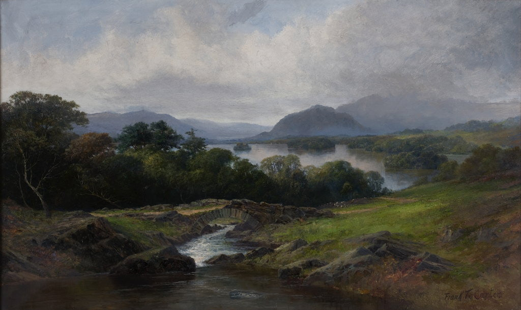 Detail of Lake District by Frank Thomas Carter