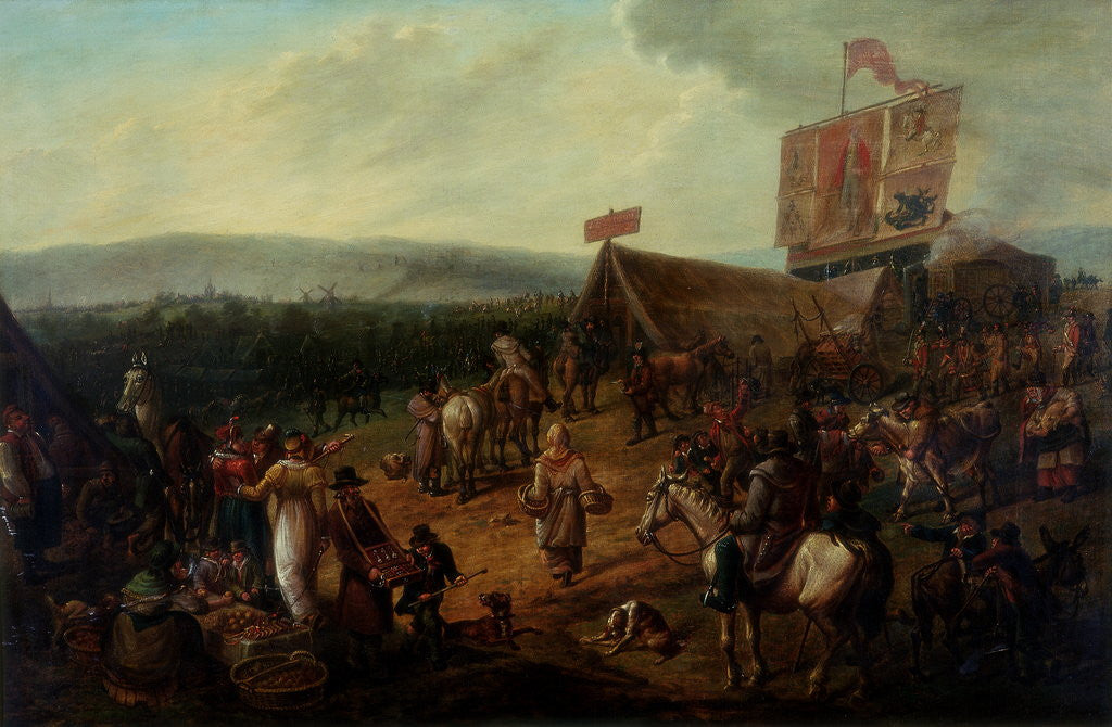 Fair on the Town Moor, Newcastle by John H. Wilson