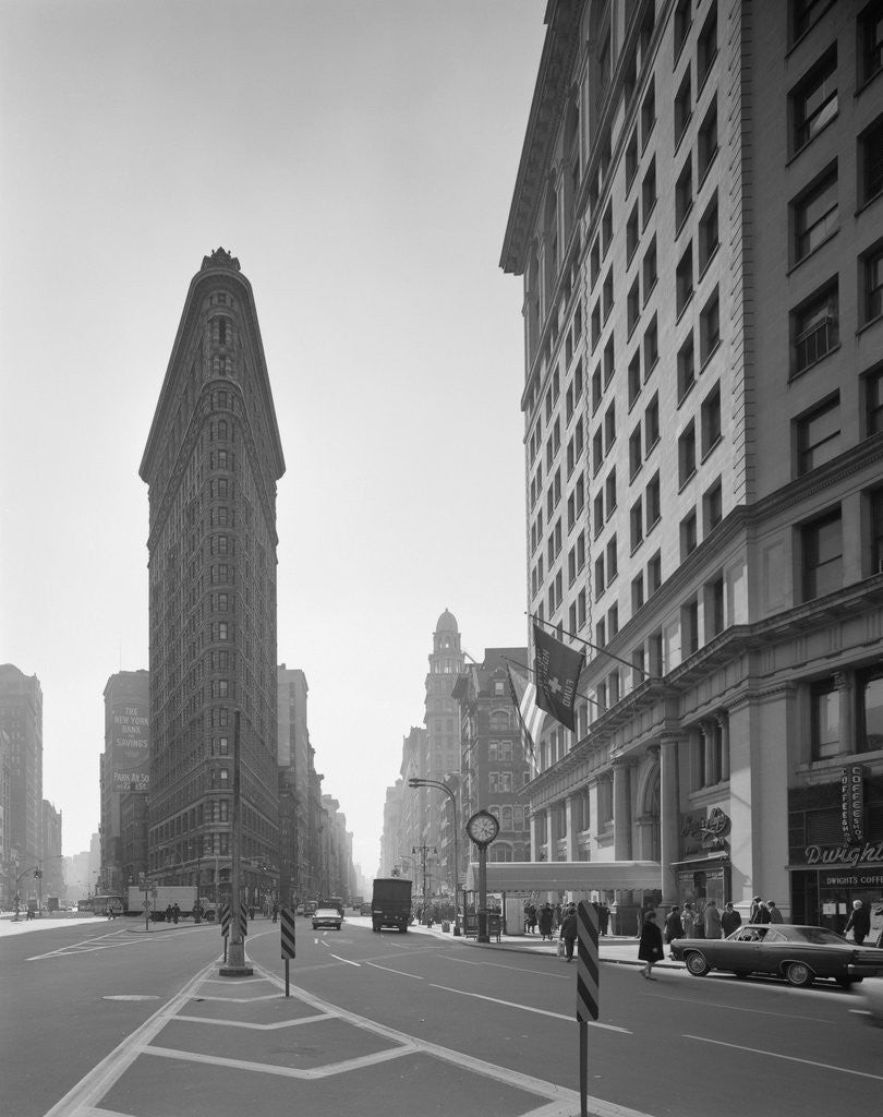 Detail of Flatiron Building by Corbis