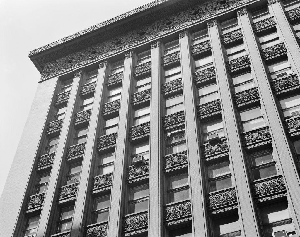 Detail of Exterior View of the Wainwright Building by Corbis