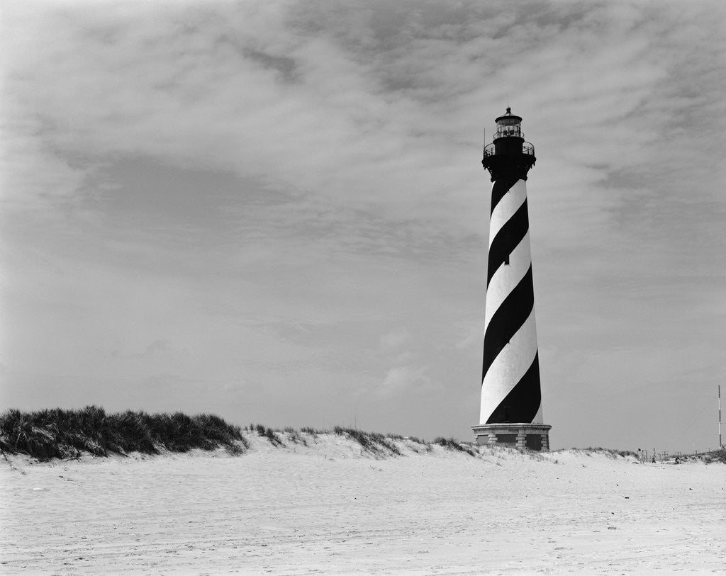 Detail of Cape Hatteras Lighthouse by Corbis