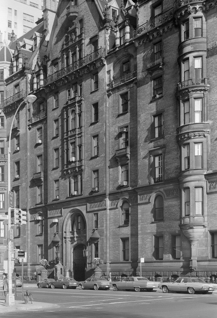 Detail of Facade of The Dakota by Corbis