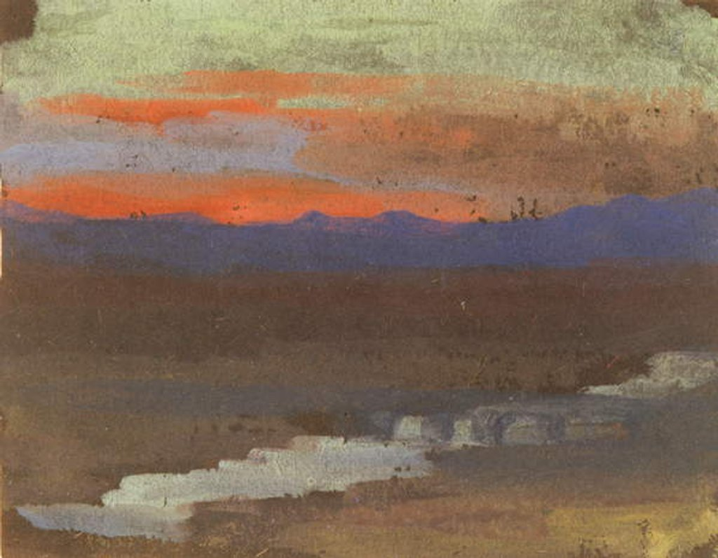 Detail of Landscape by George Sand