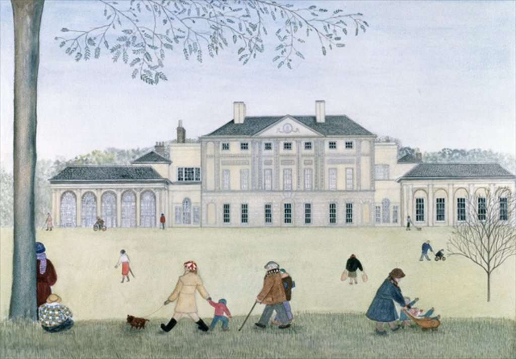 Detail of Kenwood House by Gillian Lawson