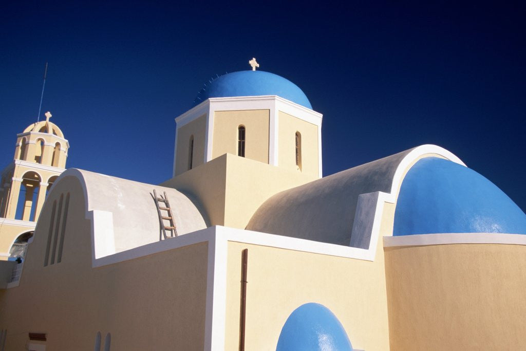 Detail of Church in Oia by Corbis