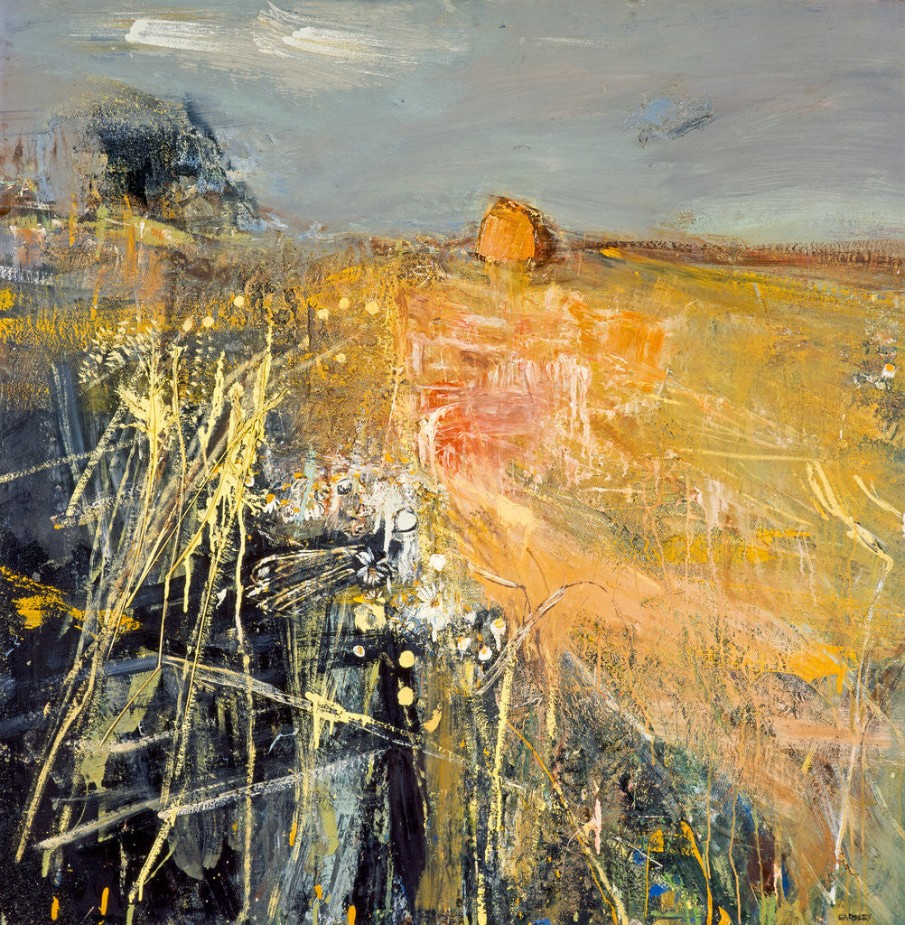 Detail of Summer Fields by Joan Eardley