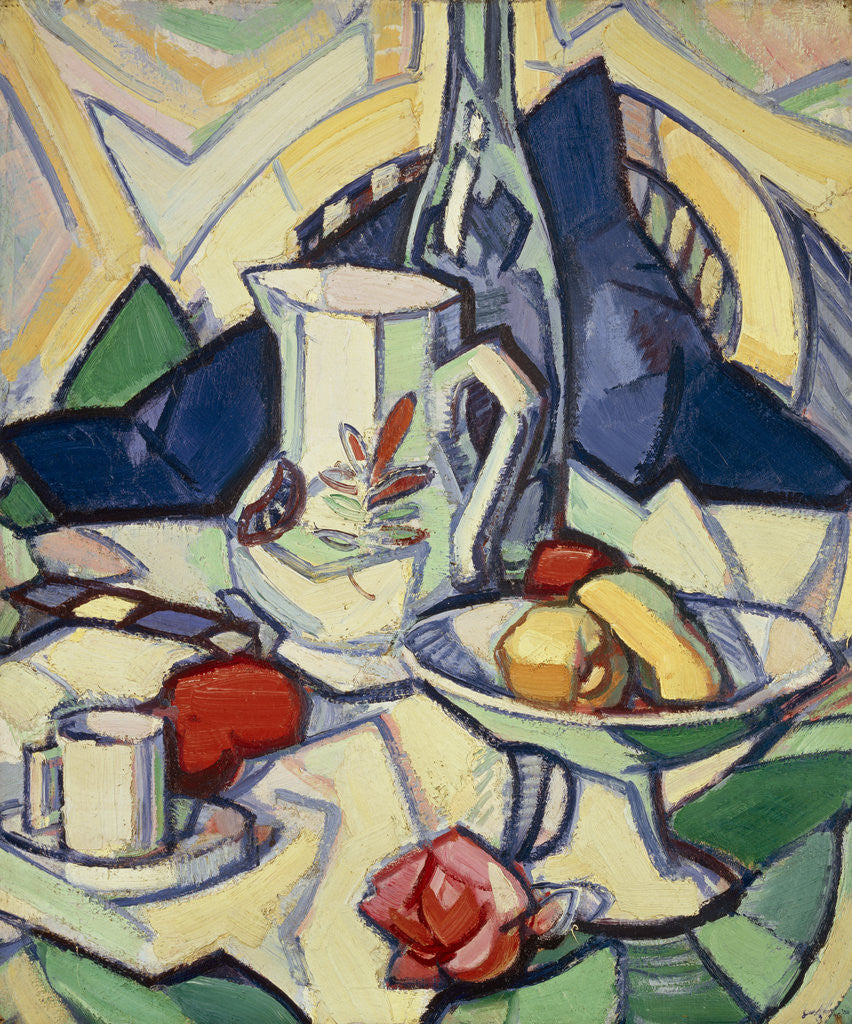 Detail of Still Life by Samuel John Peploe