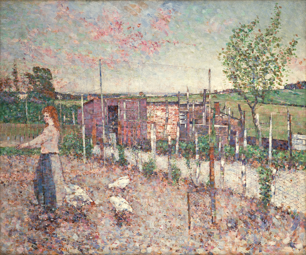 Poultry Yard, Gartcosh by John Quinton Pringle