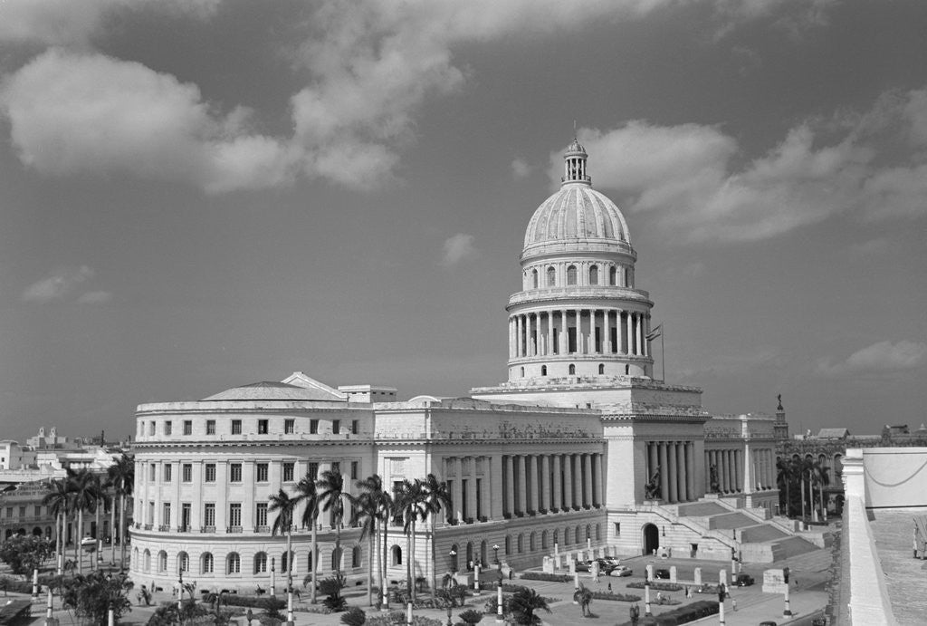 Detail of Capitol Building of Cuba by Corbis