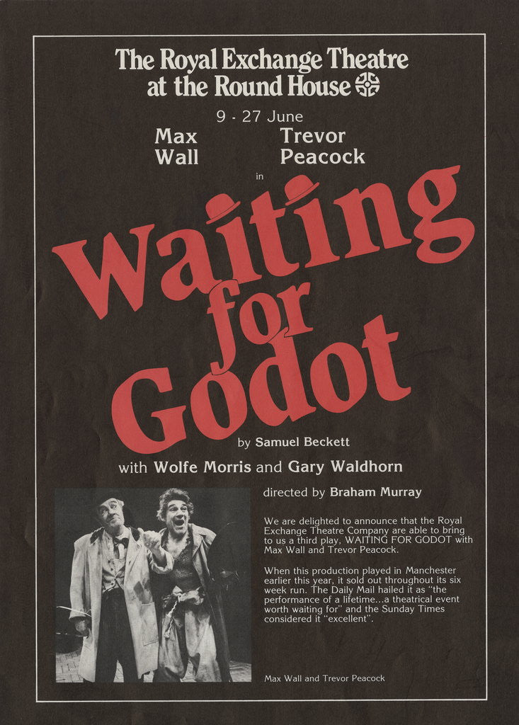 Detail of Waiting for Godot by Anonymous