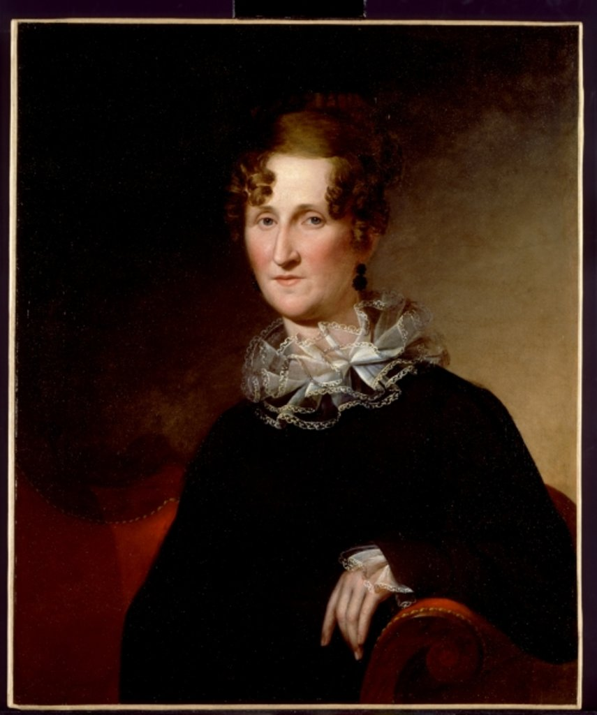 Detail of Ann Britton Cook, 1821 by James the Elder Peale