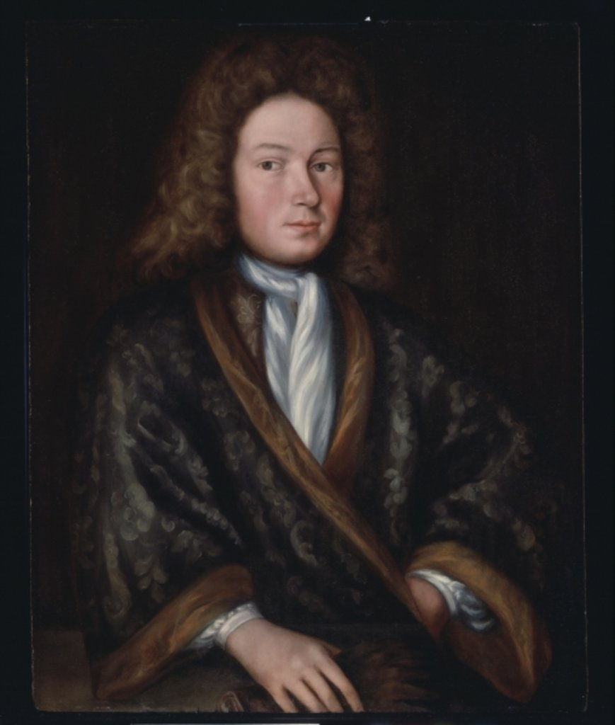 Portrait of a man, c.1690 by Gerrit Duyckinck