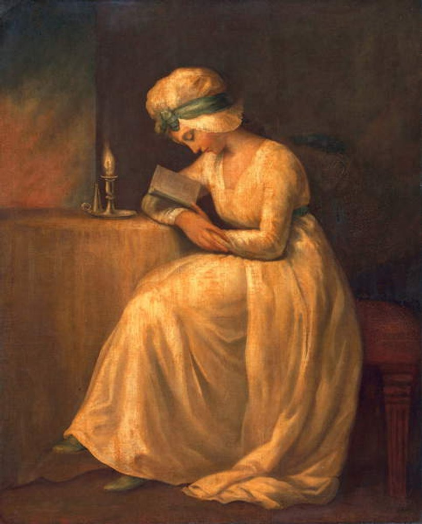 Detail of Serena by George Romney