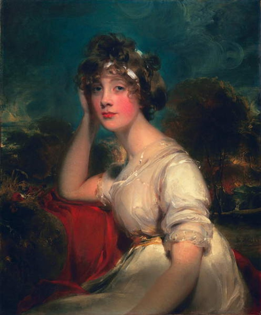 Detail of Lady Jane Long, 1793 by Thomas Lawrence