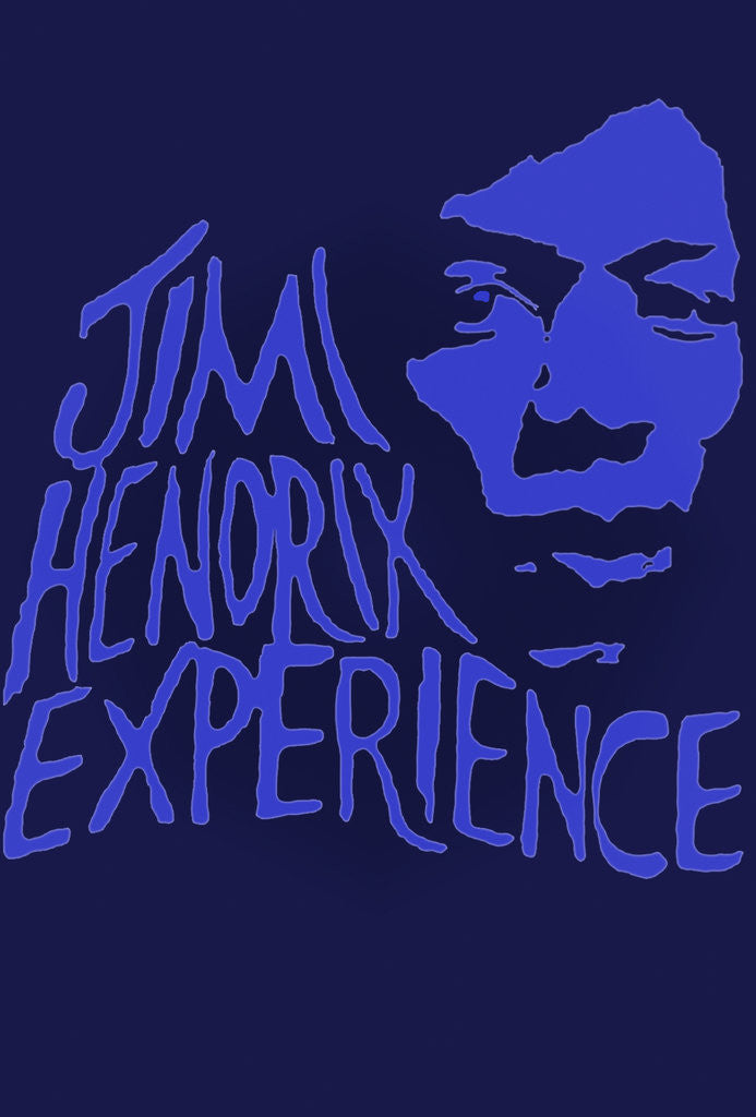 Detail of Jimi Hendrix Experience Poster by Rokpool