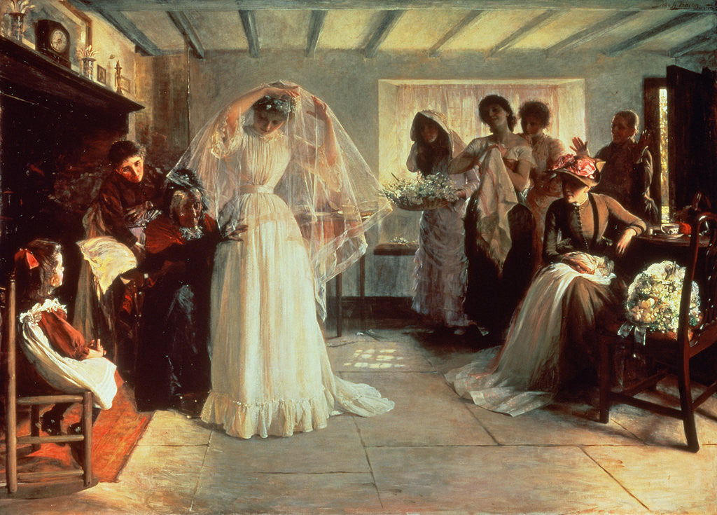 Detail of The Wedding Morning by John Henry Frederick Bacon