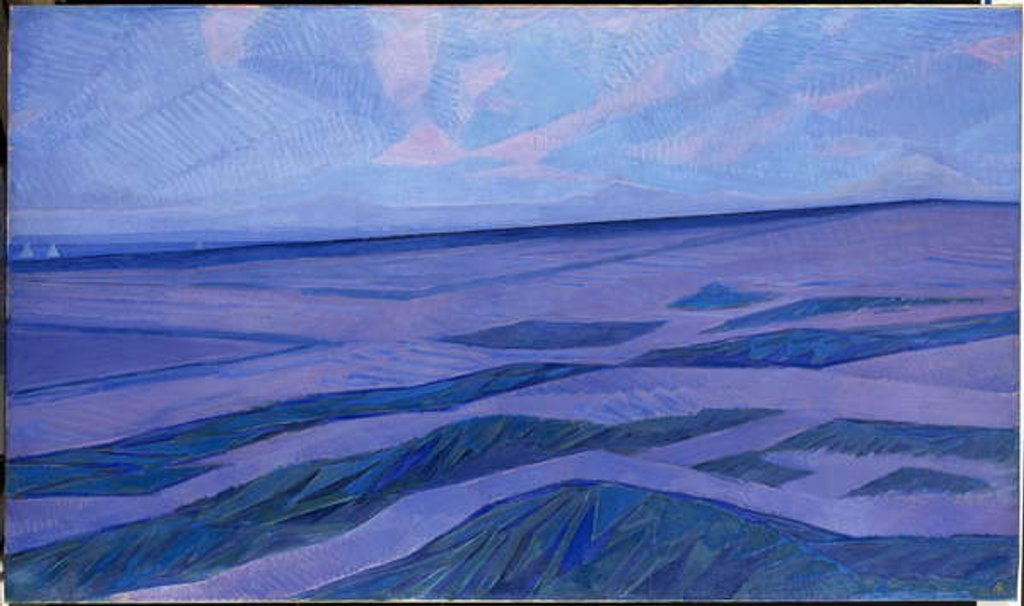 Detail of Dune Landscape, 1911 by Piet Mondrian